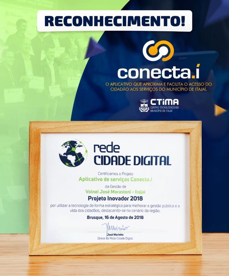 Prêmio Projeto Inovador RCD: Aplicativo Conecta.í