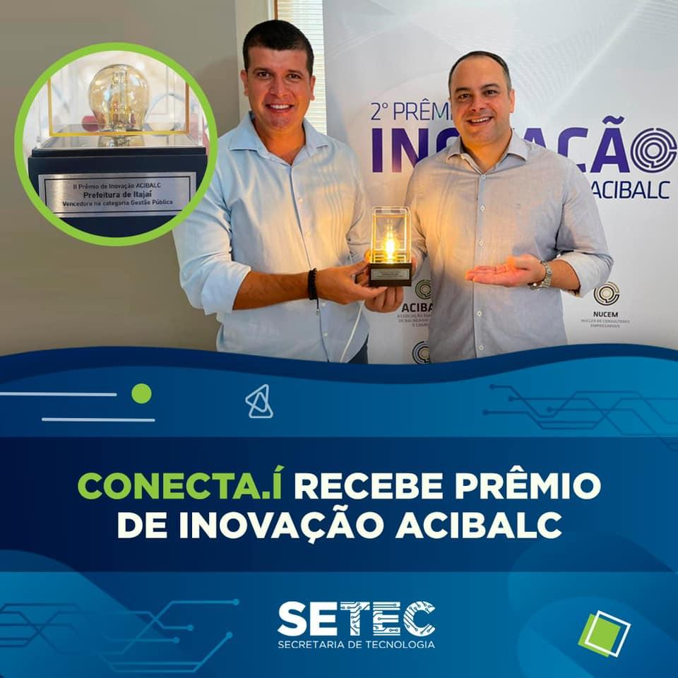 Prêmio de Inovação da ACIBALC – Aplicativo Conecta.í