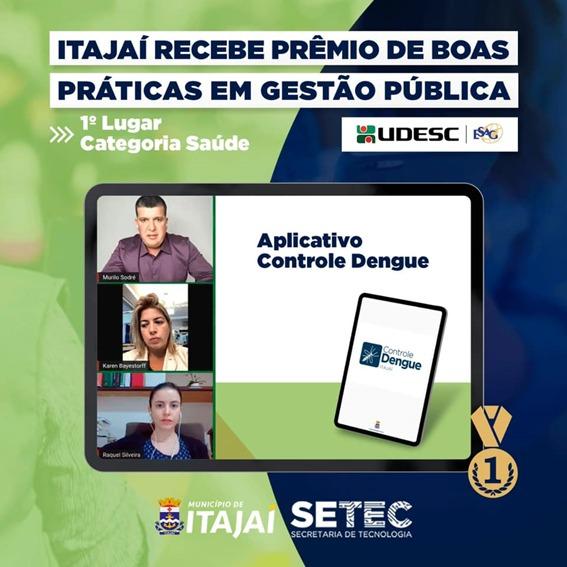 Prêmio Boas Práticas UDESC/ESAG: Aplicativo Controle Dengue