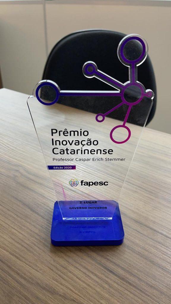 Prêmio de Inovação Catarinense Professor Caspar Erich Stemmer – Aplicativo Conecta.í